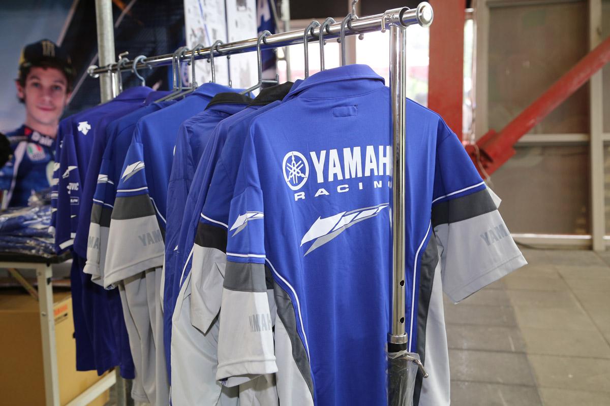 YAMAHA 廠隊商品應該相當吸引車友
