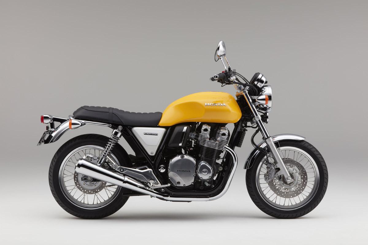 原廠還推出黃色的CB1100 EX