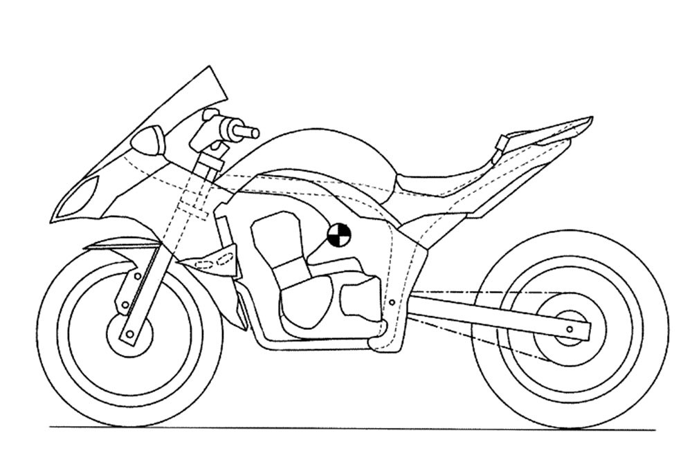 KAWASAKi 的專利圖,最明顯的部份就是多了側面安定翼
