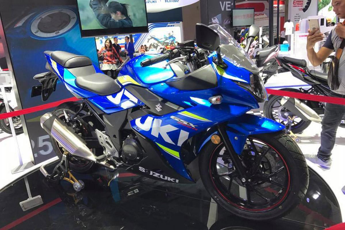 重慶摩覽會亮相的SUZUKI GSX-250R
