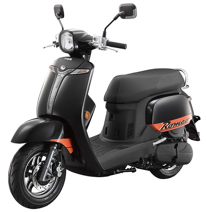 ROMEO 125 abs L45D黑 105-0408
