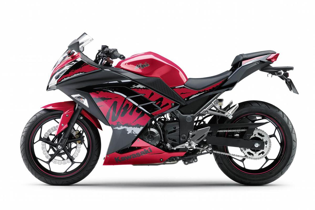 忍者新裝登場:2017 Kawasaki Ninja 250 特別版