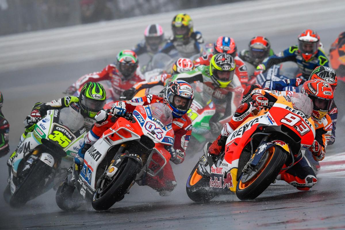 MotoGP聖馬利諾站:Marquez&Dovizioso並列積分第一