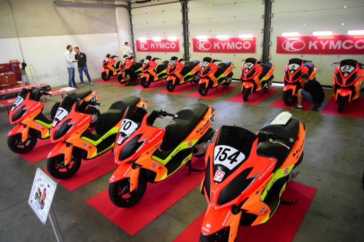 今年新增設的KYMCO DownTown 350i 統規賽事