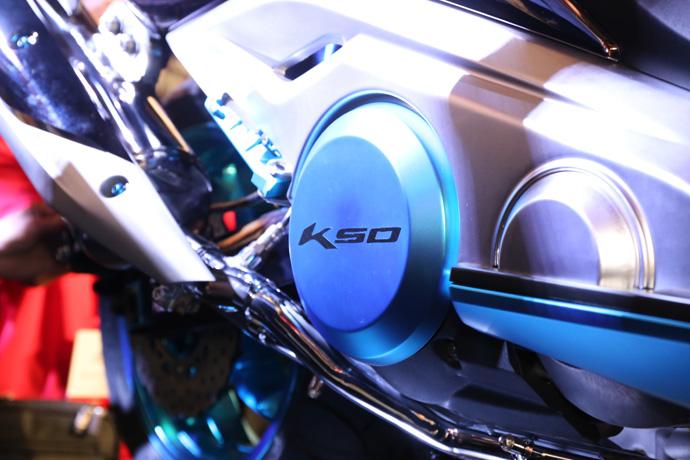 雖然已有正式名稱,不過現場實車Case 上仍是K50