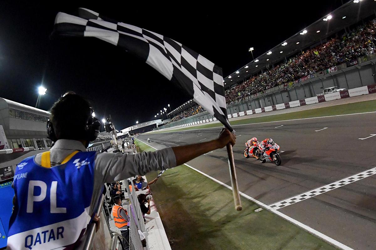MotoGP 卡達站:難分難解直到最後一彎!