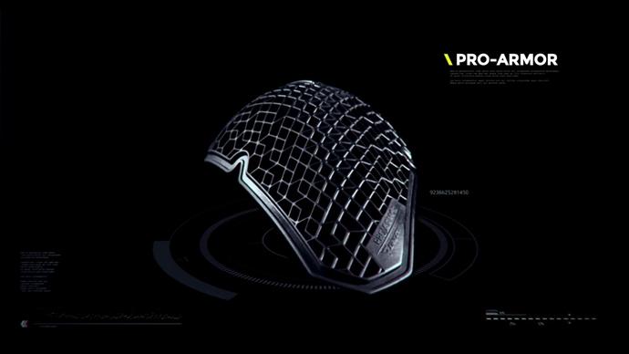 Dainese 超輕型護具Pro Armor。